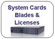 System Cards Blades & Licenses