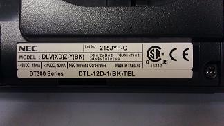 NEC DTL-12D-1(BK)TEL