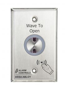 TOUCHLESS EXIT BUTTON