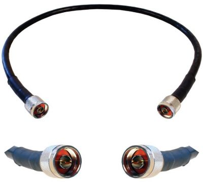 WILSON 2 FT. BLACK RG11 CABLE (F-MALE)