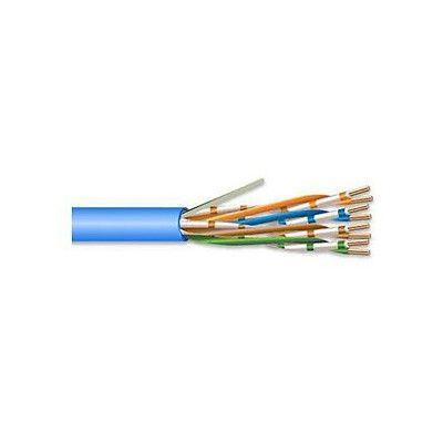 SUPERIOR ESSEX CAT-5e SOLID PLENUM CABLE 24/4 PR. UTP COMP (PER 1000 FT.) (BLUE)