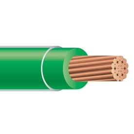 6 GAUGE STRANDED GROUND CABLE (GREEN) (PER FT.)