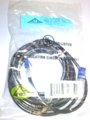 ALLEN TEL 10 FT. CAT-5E PATCH CORD BLACK