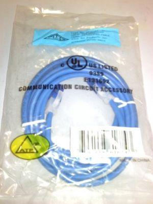 ALLEN TEL 14 FT. CAT-5E PATCH CORD BLUE