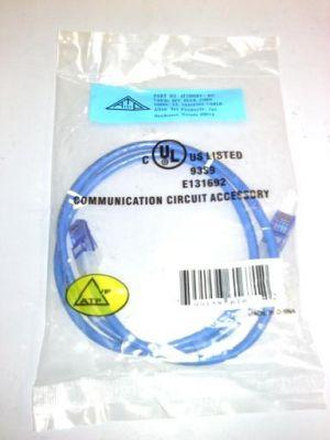 ALLEN TEL 3 FT. CAT-5E PATCH CORD BLUE
