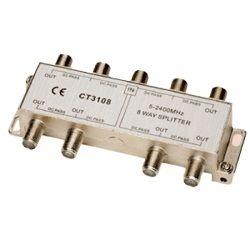 ALLEN TEL COAXIAL Ghz 8 WAY SPLITTER