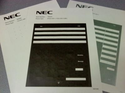 NEC DTL/ITL-24D-1 BK DESI (PKG. 25)