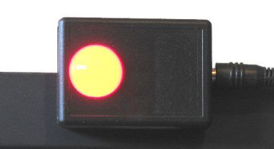IN-USE INDICATOR LIGHT WITH AMPLIFIER