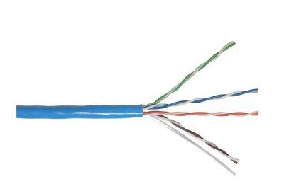 LS CAT-5e PVC CABLE (BLUE) (PER 1000 FT.)