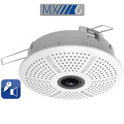 MOBOTIX c26 6MP HEMISPHERICAL 360° CEILING CAMERA WITH AUDIO (NEW)