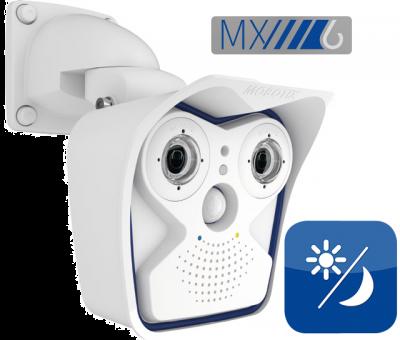 MOBOTIX M16 6MP 90° ALLROUND DUAL WEATHERPROOF NETWORK CAMERA (NEW)