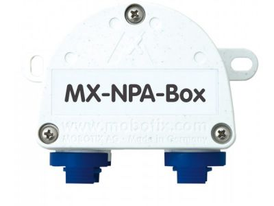 MOBOTIX WEATHERPROOF PoE INJECTOR AND NETWORK CONNECTOR, NPA INTERFACE BOX (NEW)