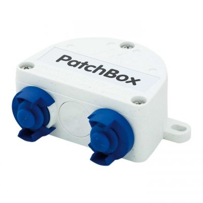 MOBOTIX OUTDOOR PATCHBOX FOR OUTDOOR ETHERNET CONNECTION (NEW)