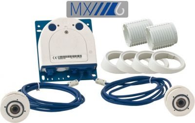 MOBOTIX S16 6MP FLEXMOUNT (DAY & DAY) COMPLETE SET2 WITH MXBUS (NEW)