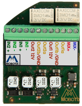 MOBOTIX MX-OPT-IO3-INT EXTENDED TERMINAL BOARD FOR c26/p26/i26/v26 CAMERA (NEW)