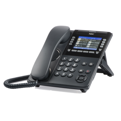NEC ITK-32LCGS-1 BK IP COLOR DISPLAY SELF-LABELING TELEPHONE (NEW)