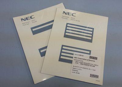 NEC DCZ-60-2 BK DSS CONSOLE DESI (PKG. 25)