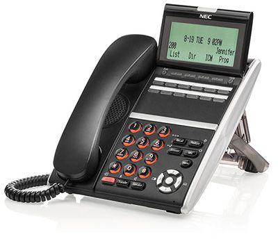 NEC ITZ-12DG-3 BK IP TELEPHONE (NEW)