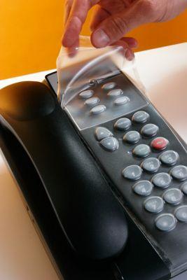 PLASTIC OVERLAY FOR NEC DTL-12D-1 PHONE