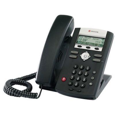 POLYCOM SOUNDPOINT IP 331 BLACK TELEPHONE (NEW)