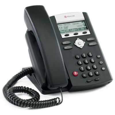 POLYCOM SOUNDPOINT IP 321 BLACK TELEPHONE (NEW)