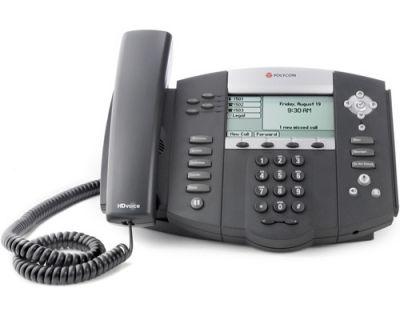 POLYCOM SOUNDPOINT IP 550 BLACK TELEPHONE (NEW)