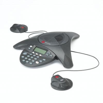 POLYCOM SOUNDSTATION 2 EX CONFERENCE TELEPHONE (NEW)
