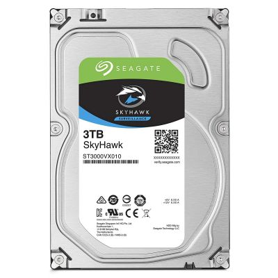 SEAGATE SKYHAWK SURVEILLANCE HDD HARD DRIVE - 3 TB - SATA-6GB/s