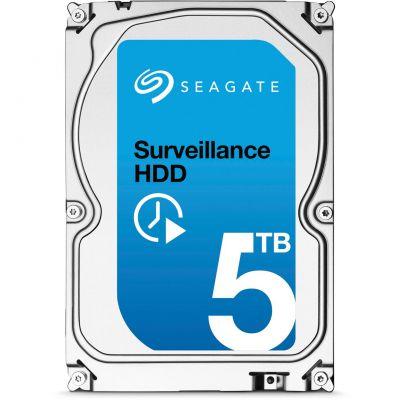 SEAGATE BARRACUDA SURVEILLANCE HDD HARD DRIVE - 5 TB - SATA-600