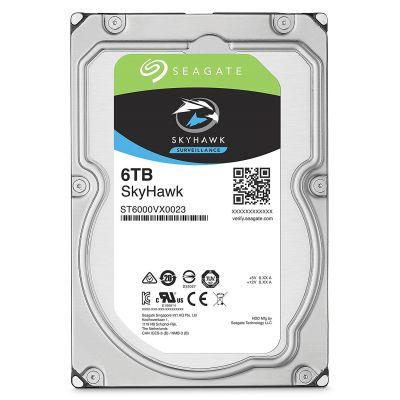 SEAGATE SKYHAWK SURVEILLANCE HDD HARD DRIVE - 6 TB - SATA-6GB/s