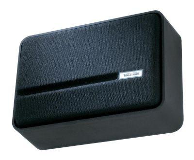 VALCOM V-1042 SLIMLINE™ ONE-WAY SPEAKER, SELF-AMPLIFIED, BUILT-IN VOLUME CONTROL (BLACK)