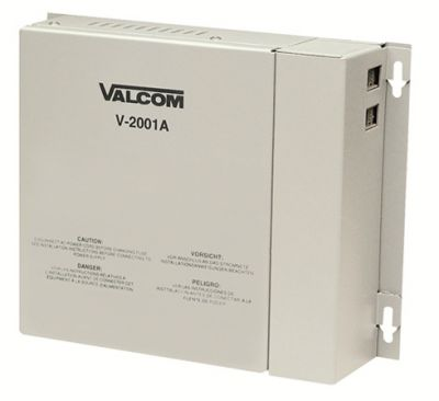 VALCOM V-2001A 1-ZONE PAGE CONTROL WITH BUILT-IN POWER SUPPLY